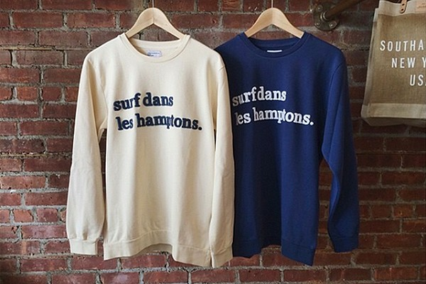 Sweatshirts by Paris-based brand Cuisse de Grenouille.  Photo via viacomit.net.